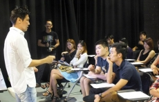 Artiste Sharing Session with Edmund Chen