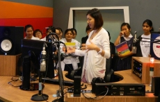 Raffles Girls' School Basic Radio DJ Presentation (17 October 2012)