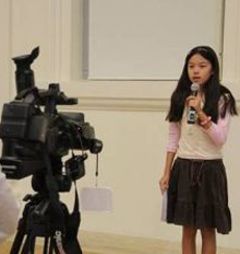 Little Reporters Get Taste of Life Before Camera